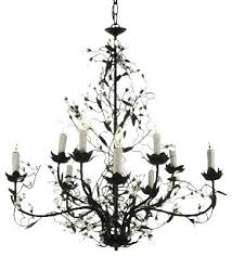 wrought iron and crystal chandelier stylish chandeliers intended for small wrought iron and