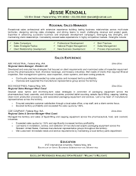 Sales Manager Resume Objective 241980 Sales Manager Resume