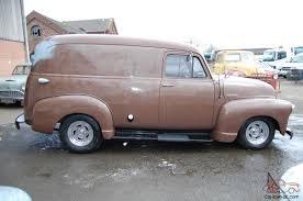 1948 Chevrolet3100 panel van, V8 TH350, UK registered