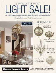 Rensen House Of Lights Hours Rensen House Of Light Capital Lighting Brochure By Alex