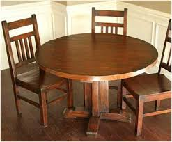 round kitchen table sets chair