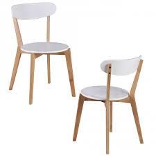 Finebuy 2er Set Esszimmerstühle Mdf Weiß Design Holz Stühle Retro Küchenstühle Skandinavisch Essstühle Sitzmöbel