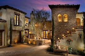 luxury tuscan style house plans