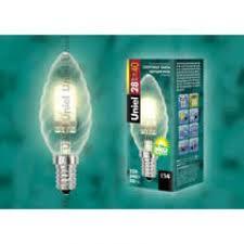 ВЫВОДИМЫЕ: *<b>Лампа</b> галогенная <b>Uniel HCL</b>-<b>28</b>/<b>CL</b>/<b>E14</b> CANDLE ...