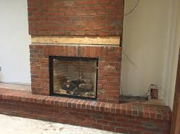 photo 3 of 10 brick veneer fireplace charming brick veneer for fireplace 3