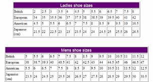 Shoe Size Chart Havaianas Multi Mix Color Men Women Brasil