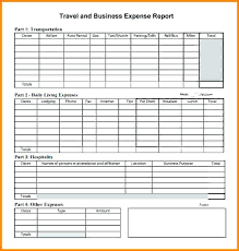 Free Printable Expense Report Forms Interesting Business Travel Expense Report Template 48 Trip Expenses Tracker Free