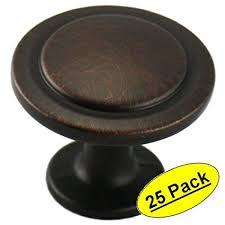 Cosmas 5560ORB Oil Rubbed Bronze Cabinet Hardware Round Knob 1 14
