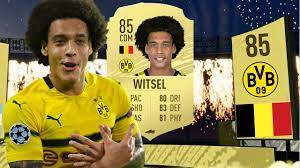 FIFA 20   85 WITSEL PLAYER REVIEW ! Best Midfielder On FUT 20 ?! - YouTube