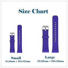Gear Fit 2 Pro Size Chart For Samsung Gear Fit 2 Strap Samsung Gear Fit 2 Pro Strap