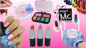 Project Mc2 Beauty Experiments H2O Nail Kit DIY Crayon lipsticks ...
