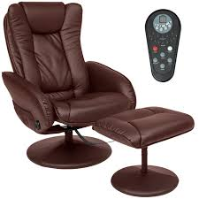 best choice s faux leather massage recliner chair w ottoman remote control 5