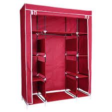 50quot portable wardrobe folding closet hanging cloth storage cabine home incd vat wardrobe closet home