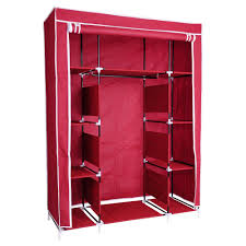 50quot portable wardrobe folding closet hanging cloth storage cabine home incd vat wardrobe closet home