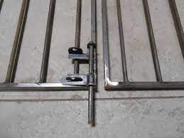 single drop pin custom wrought iron