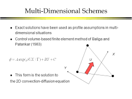 16 multi dimensional schemes l exact solutions