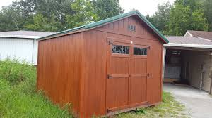 12x12 traditional classic shed