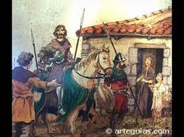 Resultado de imagen de el destierro del Cid