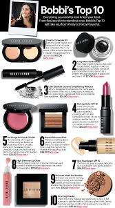 bobbi brown s top 10 s for your basic cosmetics wardrobe all listed are hers but good basic list and as always some useful tips