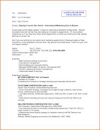 Resume For Recruiter Resume For Your Job Application