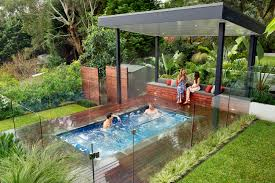 Small Picture Modern Nice Design Of The Outdoor Spa Landscaping Ideas That Has