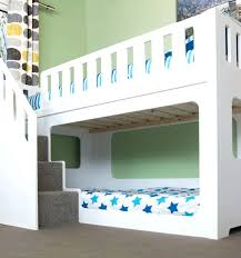 bunk bed with stairs. Loft Bed With Stairs Home Kids Beds Deluxe Bunk Full Size .