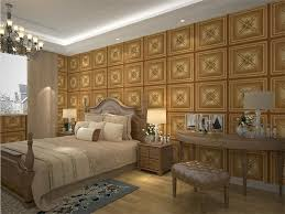 custom leather 3d texture wall panel interior decoration wall cladding light weight and durable