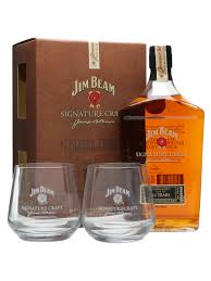 jim beam signature craft 12 year old 2 gl pack the whisky exchange