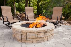 how to build a fire pit home depot pavestone fire pit fire pit stones