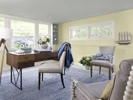af home office. benjamin moore 2013 color trends coastal home office 1walls lemon sorbet af o