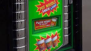Ramen Noodle Vending Machine New Ramen Noodle Vending Machines Ramen Noodle Vending
