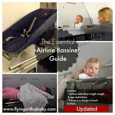 Baby Cakes Seating Chart Airplane Bassinet Seats A Guide To Airline Bassinet Seat