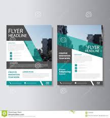 Presentation Flyers Green Vector Annual Report Leaflet Brochure Flyer Template