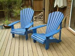 adirondack chairs uk. Delighful Adirondack 2 Classic Adirondack Chairs Painted Barleywood Blue With Uk A