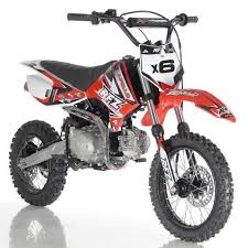 apollo db x6 125cc dirt bike with 4 speed fully automatic