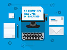 how to write a job winning resume me 10 common resume mistakes