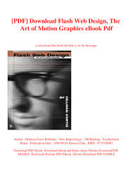 Hillman Curtis Flash Web Design Pdf Download Flash Web Design The Art Of Motion Graphics