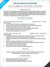 Cashier Resume Sample Sales Associate Resume Sample Cashier Resume