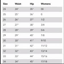 Womens Jeans Size Chart Wallflower Jeans Size Chart Bedowntowndaytona Com