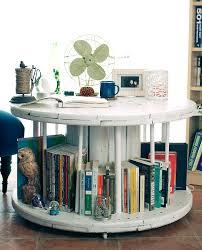 full size of diy spool coffee table as book shelf