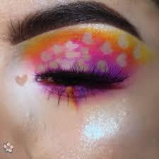 Eye Makeup Sticker Designs 7 Ways To Wear Heart Makeup On Valentines Day Allure