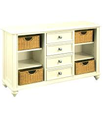Console Storage Table Hallway Tables With Furniture Hall Baskets Solid Oak Wood
