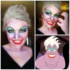scary makeup ideas ursula ursula makeup tutorial you