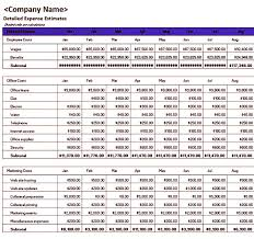 Budgeting Template Excel Sample Excel Business Budget Template Pitsel
