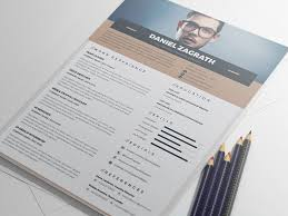Professional Resume Template Free Magnificent Free Resume Template For UI UX Web Graphic Designers Good Resume