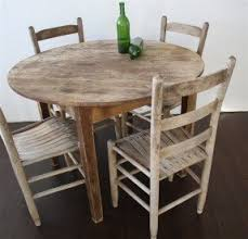 Round Wood Dining Room Table Sets Foter