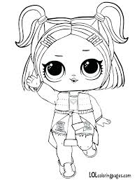 Lol Surprise Doll Coloring Pages At Getcoloringscom Free