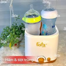 Zaca.vn - Máy hâm và tiệt trùng 2 bình sữa Fatz Baby Sản...