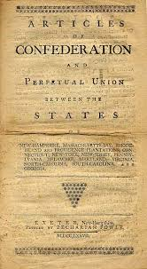 articles of confederation questions
