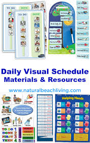 Perfect Daily Visual Schedule Materials And Resources